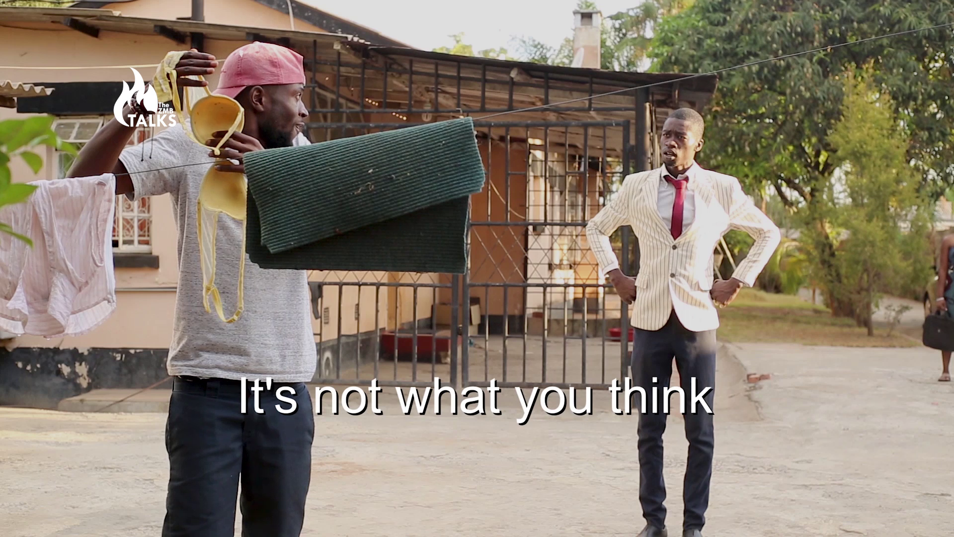 theZMBTalks Debuts A Comedy Skit for Zambia's Independence Day
