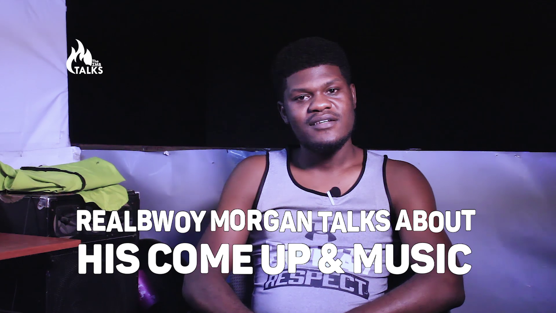 RealBwoy Morgan Talks About His Come Up & Music
