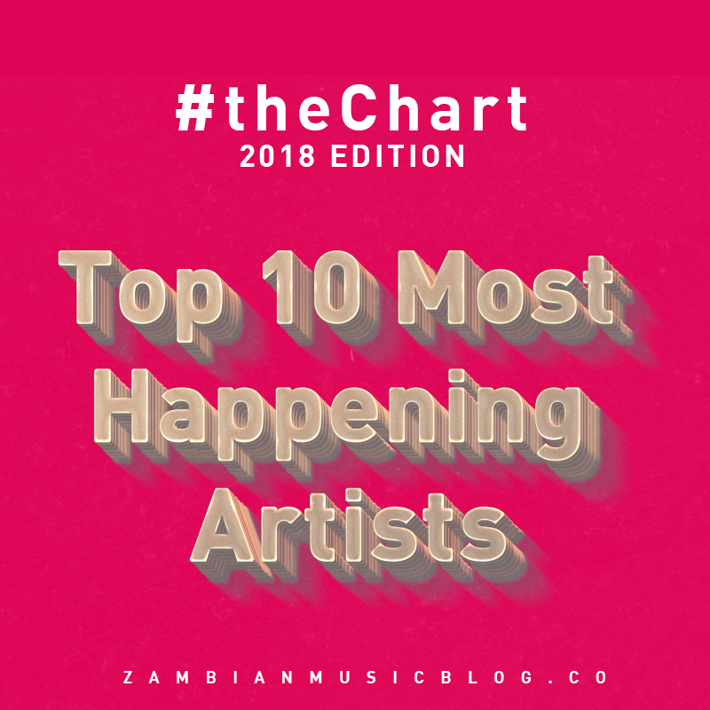 the 10 Most Happening Artists In Zambia | #theChart2018
