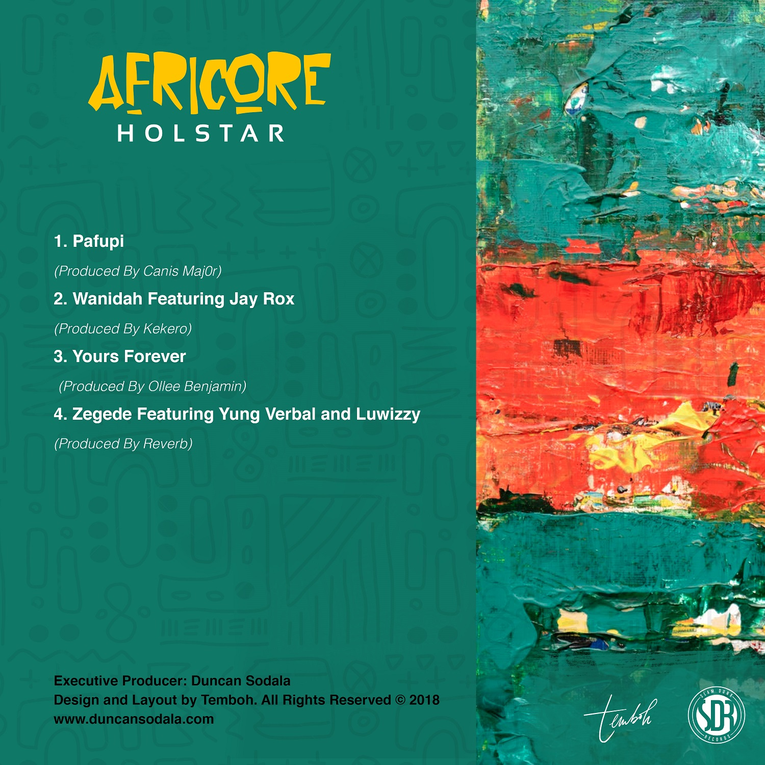Holstar Officially Releases Afrobeats inspired EP – Africore
