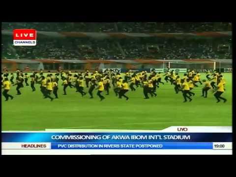VIDEO: Don Jazzy & The Mavins Performing Dorobucci Live at The New Akwa Ibom Stadium