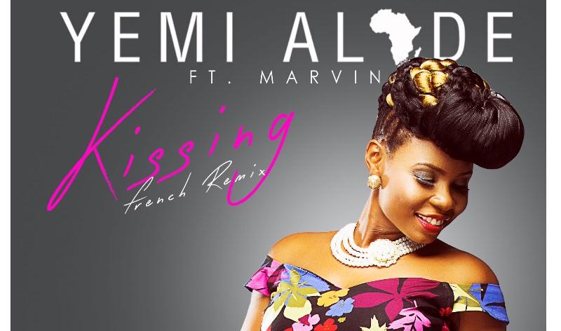 VIDEO: Yemi Alade – Kissing (French Remix)