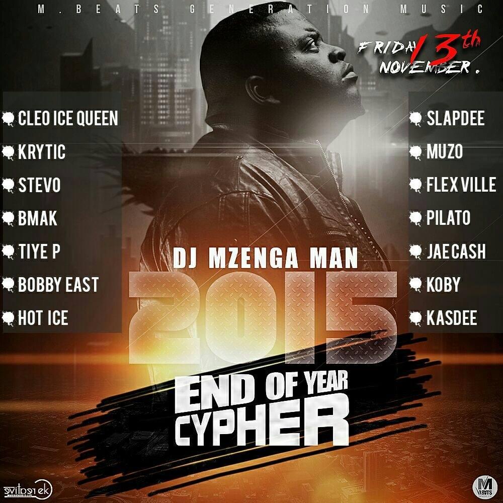 DJ Mzenga Man 2015 End Of Year Cypher