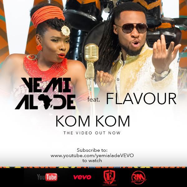 "VIDEO: Yemi Alade – ""Kom Kom"" ft. Flavour"