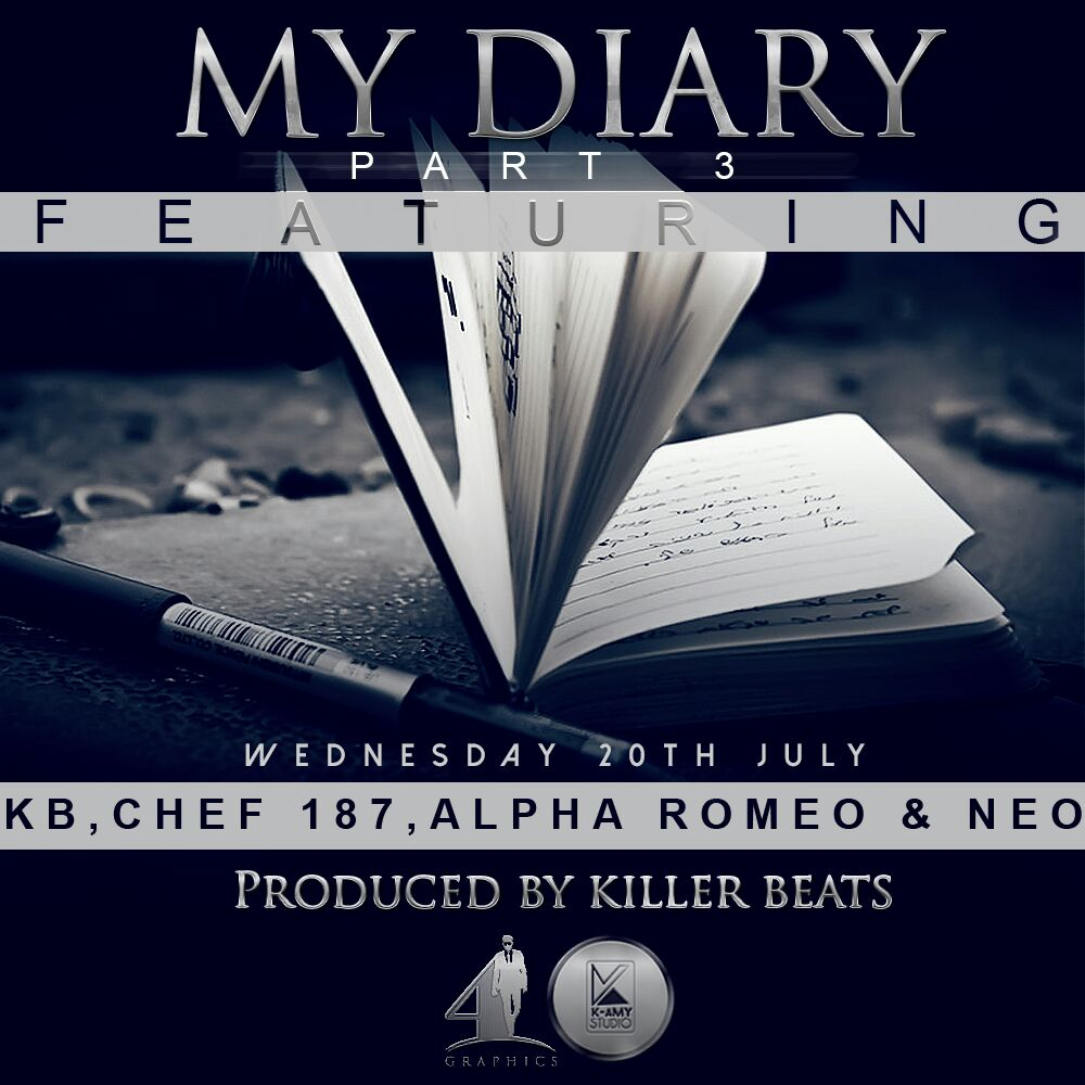 """Wp Content Co: """"My Diary (Part 3)"""" Ft. Chef 187, Alpha Romeo & Neo"""
