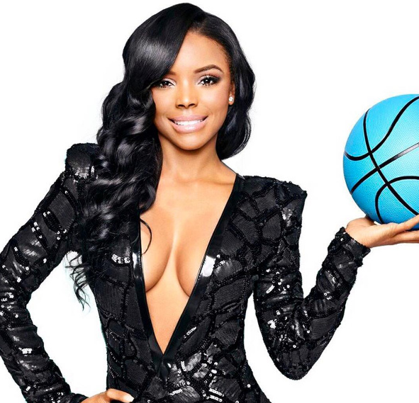 """VH1's Basketball Wives LA Star """"Angel Love"""" bursts at Bomb$hell"""