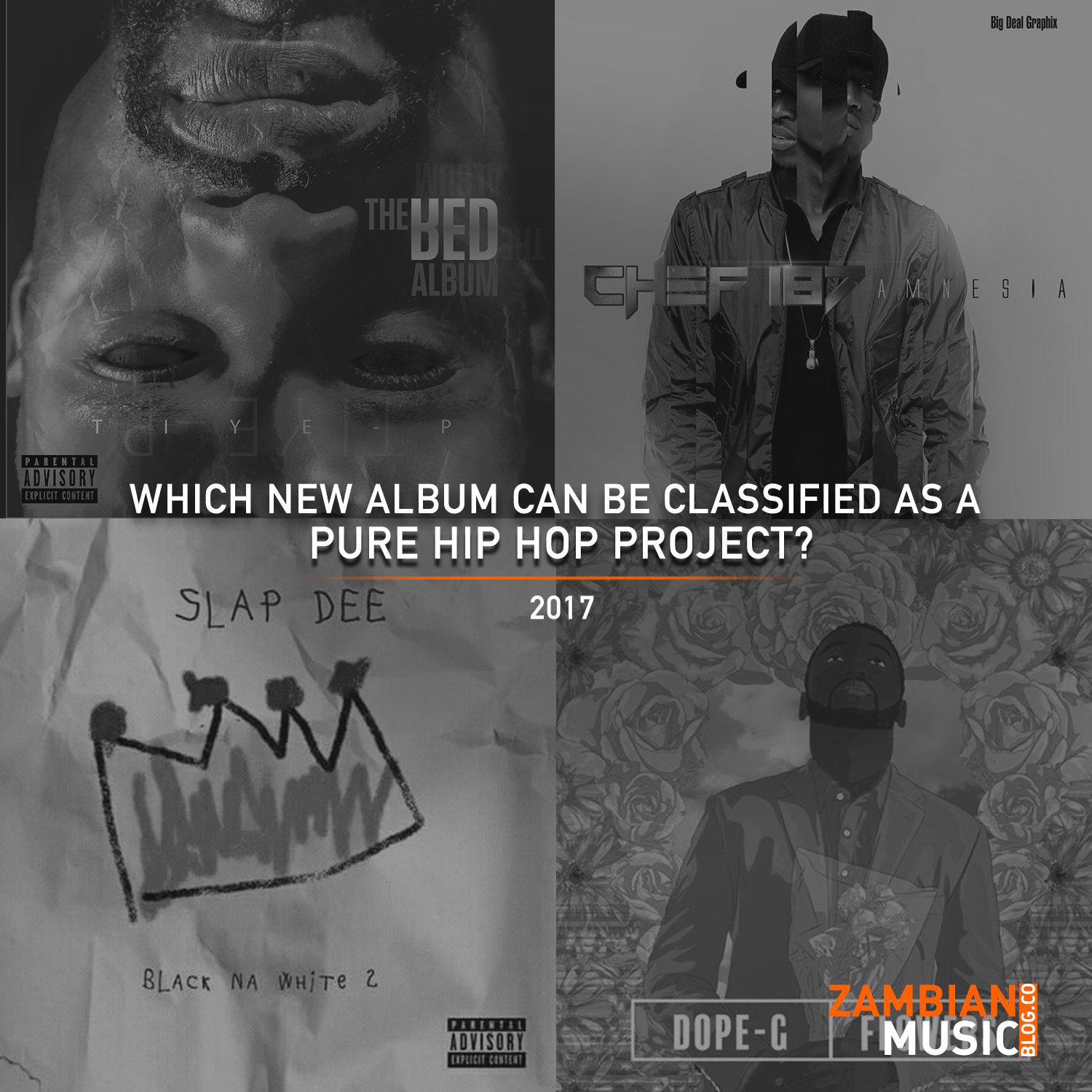 Which New Album can be Classified as a pure Hip Hop Project? | Vote