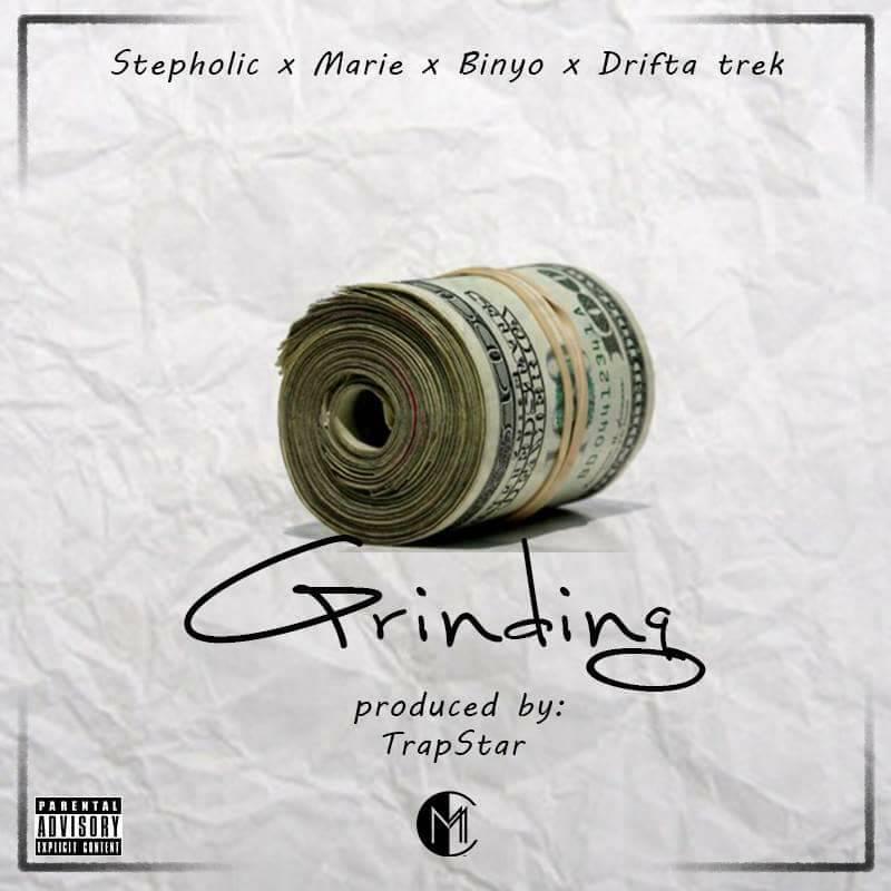 "Stepholic – ""Grinding"" ft. Drifta Trek, Marie & Binyo"