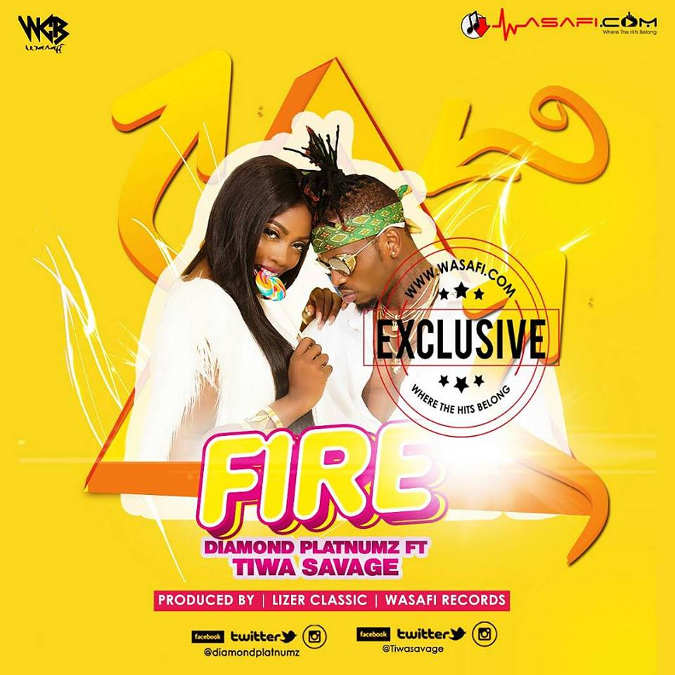 """Wp Content Co: """"Fire"""" Ft. Tiwa Savage"""