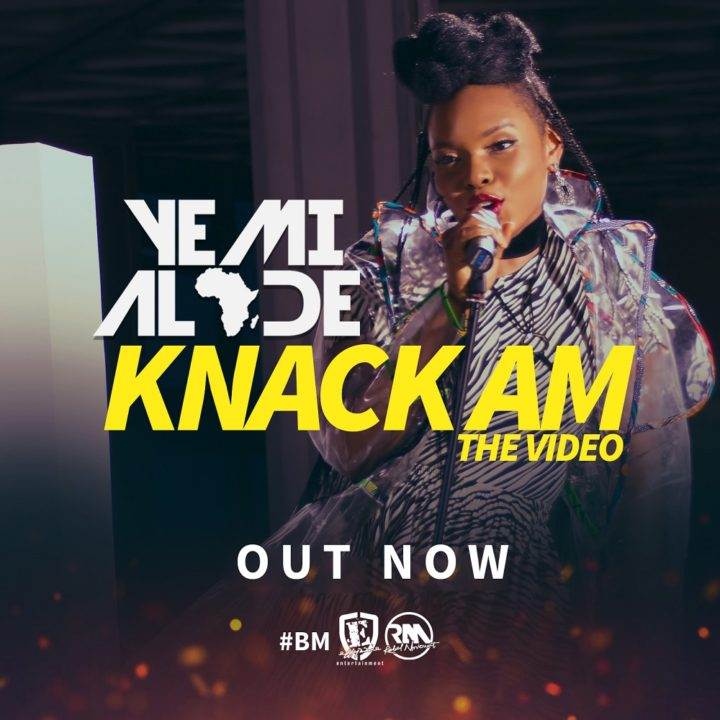 "VIDEO: Yemi Alade – ""Knack Am"""