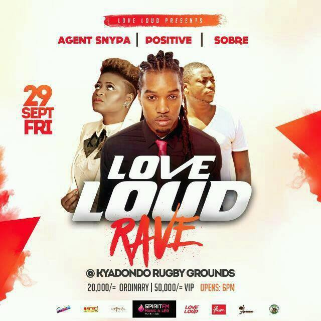SOBRE will perform alongside Positive in Kampala Uganda this September 29th