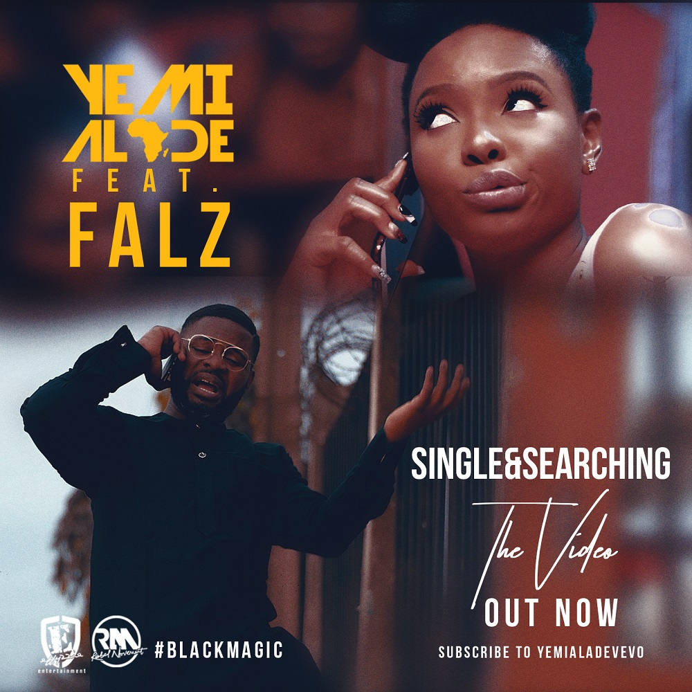 "VIDEO: Yemi Alade – ""Single & Searching"" ft. Falz"