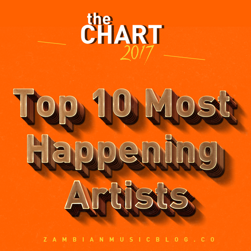 Top 10 Most Happening Artists In Zambia | #theChart2017