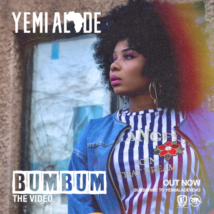 "VIDEO: Yemi Alade – ""Bum Bum"""