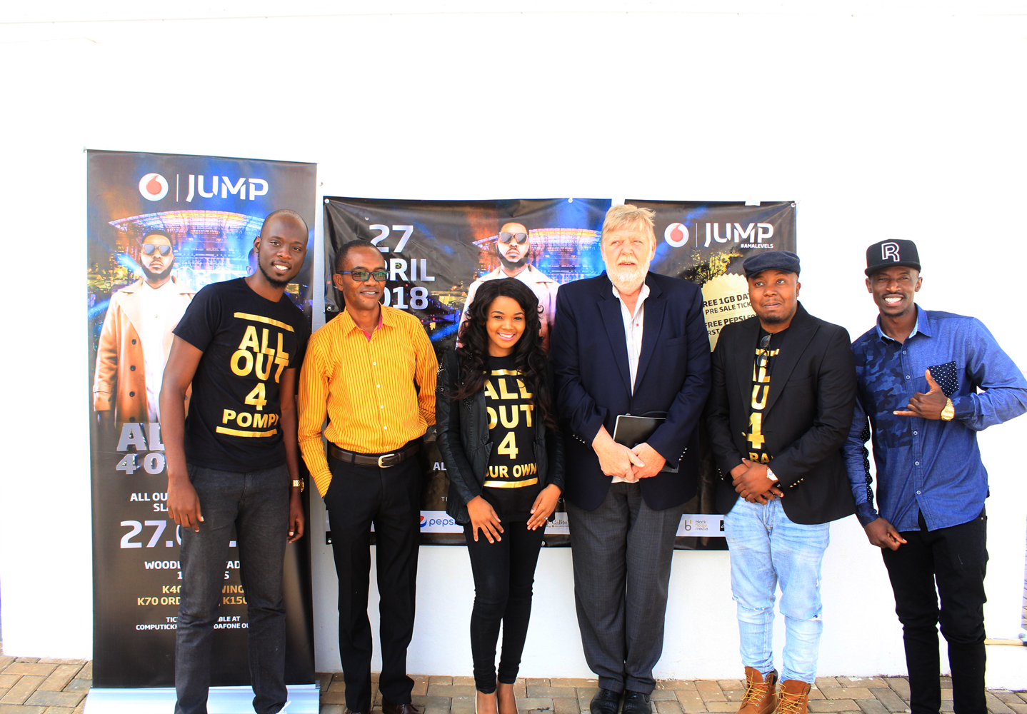 Vodafone JUMP Unveiled Headline Acts for ALLOut4OurOwn Concert