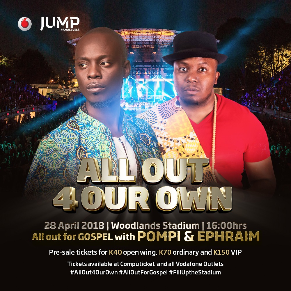#ALLOut4Gospel: WIN TICKETS! to attend Zambia's biggest musical experience