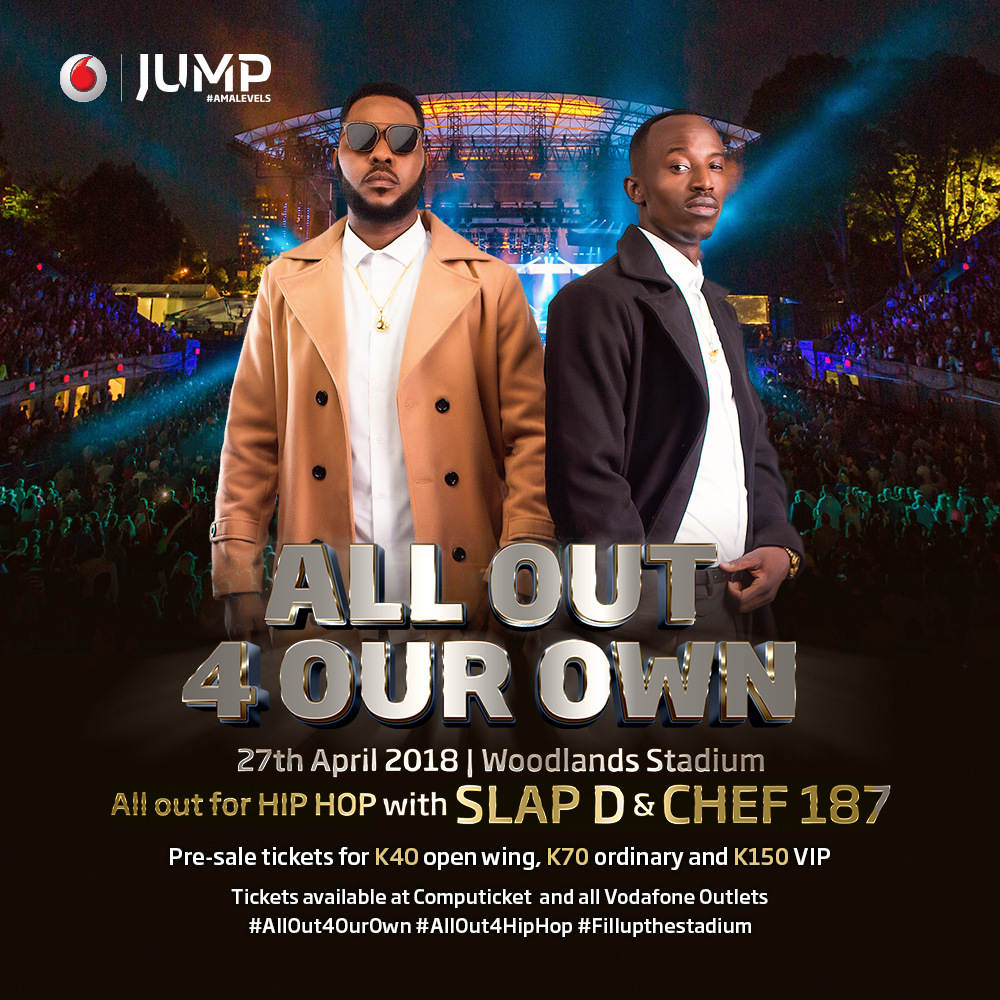 #ALLOut4Hip-Hop: WIN TICKETS! to attend Zambia's biggest musical experience