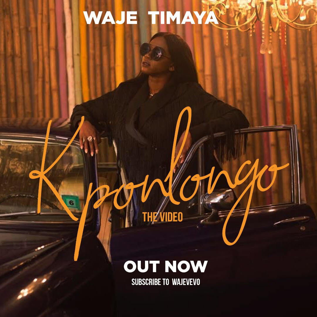 "VIDEO: Waje ft. Timaya – ""Kponlongo"""