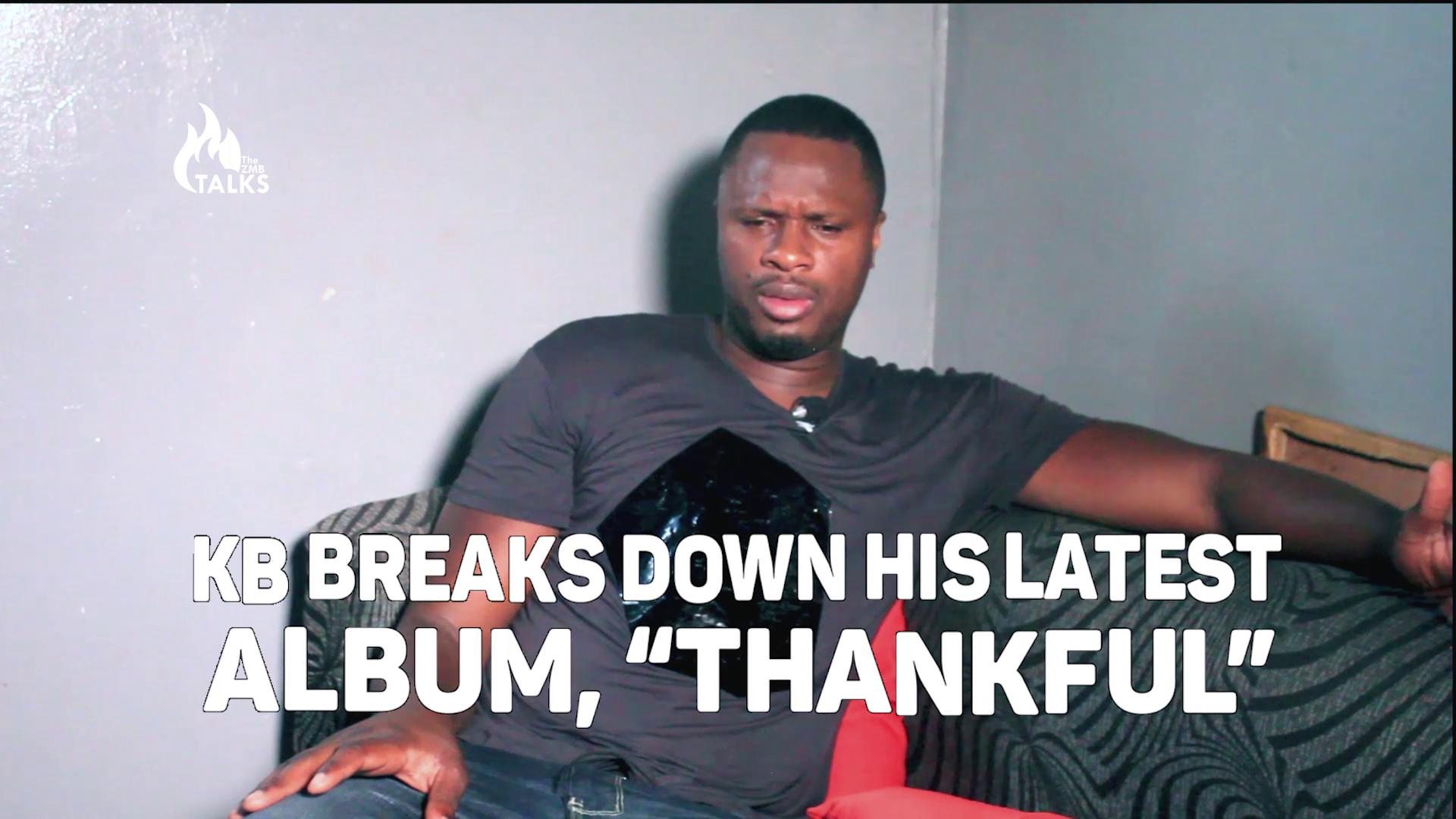 "KB Breaks Down His Latest Album, ""Thankful"""