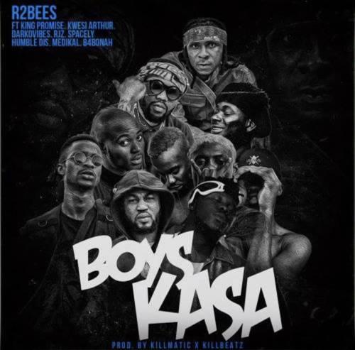 "VIDEO: R2bees – ""Boys Kasa"" ft. King Promise, Kwesi Arthur, Darkovibes, Rjz,Spacely, Humble Dis, Medikal, B4bonah"
