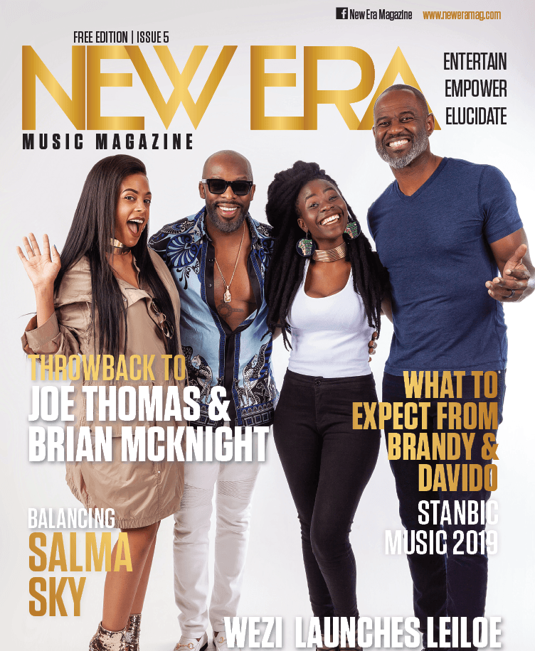 Wezi, Salma Sky, Joe Thomas & Brian Mcknight Covers New Era Magazine Latest Issue