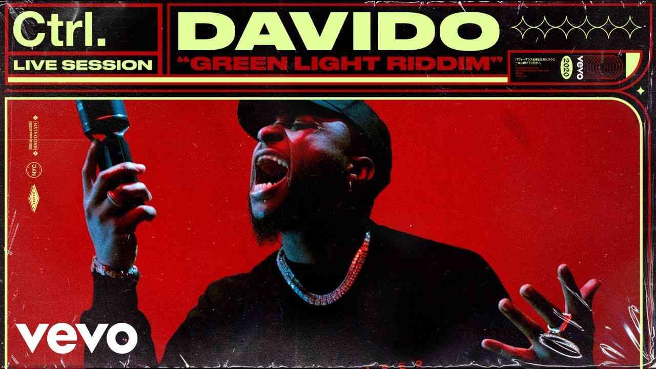 "Davido Perform ""Intro"" & ""Green Light Riddim"" Live on Vevo Ctrl"