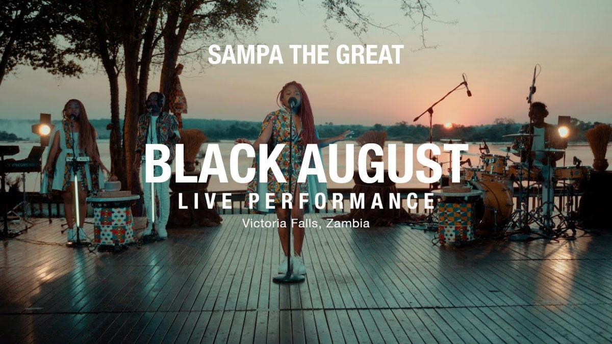 VIDEO: Sampa The Great – Live Performance: Black August (ft. Mag44 & Tio Nason)