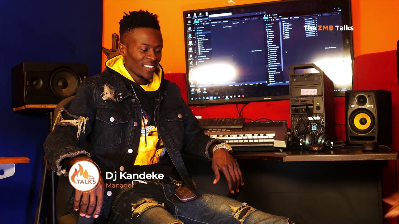 Yo Maps Manager Dj Kandeke talks about their trending picture & their relationship| the ZMB Talks