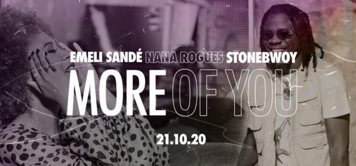 "VIDEO: Emeli Sandé ft. Stonebwoy & Nana Rogues – ""More of You"""