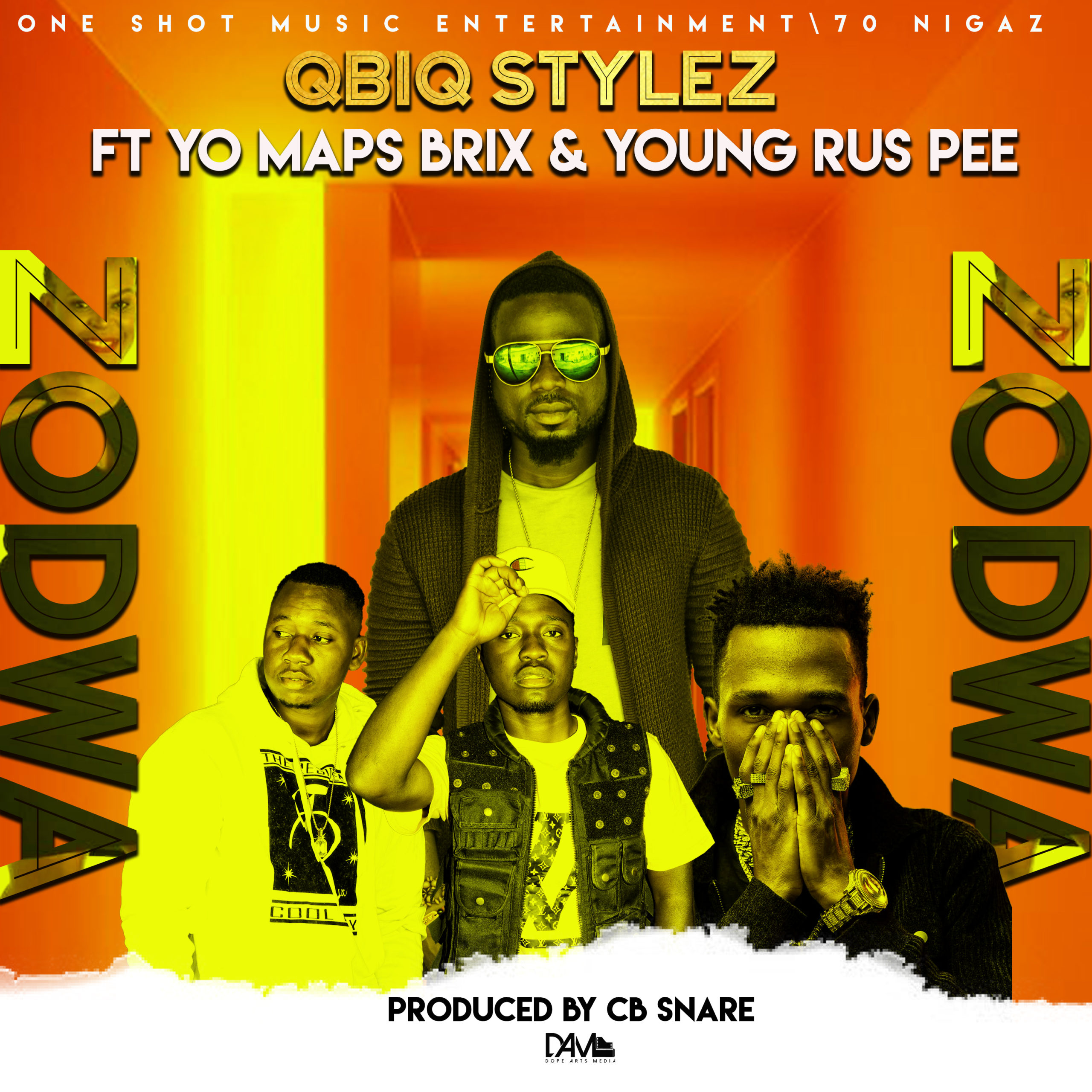 "Qbiq Stylez ft. Yo Maps, Young Rus-P & Brix – ""Zodwa"""